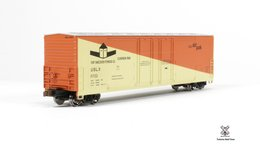 Kit Classics HO Scale Evans 5100 RBL Boxcar, Fort Vancouver Plywood 11722 | Model Train Kits (Rolling Stock)