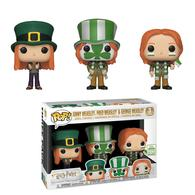 Ginny Weasley, Fred Weasley, & George Weasley (Quidditch World Cup 3-Pack) [Spring Convention] | Vinyl Art Toys