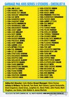 Garbage pail kids series 3 stickers   checklist b trading cards %2528individual%2529 2bbb5b8e bb26 43c0 9362 dac4c14dd0cd medium