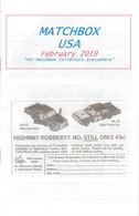 Matchbox USA Magazine February 2019 | Magazines & Periodicals