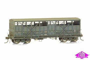 NSWGR Bogie Cattle Wagon - BCW PTC Blue Pack 10 | Model Train Sets