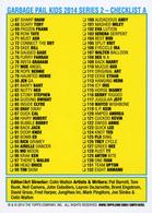 Garbage pail kids 2014 series 2   checklist a trading cards %2528individual%2529 ccfd1e35 7fc0 4f3a 85a8 95cd0f7d6133 medium