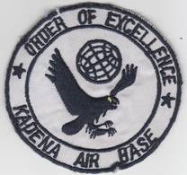 Usaf order of excellence kadena air base patch 3.25%2522  bad spot at bottom of patch  check it out uniform patches 59de531d e91d 438b b064 9353f3281709 medium