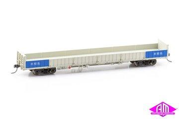HWO Open Wagon Weathered QR Grey 2000s, 3 Wagon Pack (Pack 4 HO 16.5MM) | Model Train Sets
