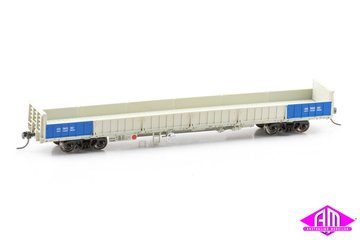 HWO Open Wagon Weathered QR Grey 2000s, 3 Wagon Pack (Pack 3 HO 16.5MM) | Model Train Sets