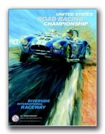Riverside International Raceway Shelby Poster | Posters & Prints