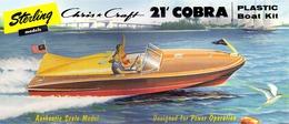 Chris Craft Cobra | Model Ship and Other Watercraft Kits