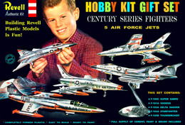 Century Series Fighters Gift Set | Model Aircraft Kits