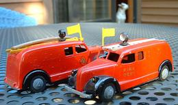 Triangel Fire Truck | Model Trucks