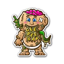 Geep Mascot Sticker | Decals & Stickers