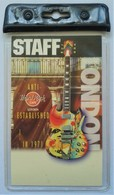 London Staff Laminate | Event Passes & Tickets | Front.