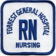 Forrest general hospital rn nursing patch uniform patches d26378ac 9162 4cff 97ef 4374392bdde7 medium