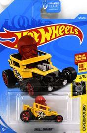 Skull Shaker | Model Cars | 2019 Hot Wheels Experimotors Skull Shaker Yellow