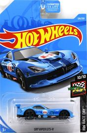 SRT Viper GTS-R | Model Cars | 2019 Hot Wheels HW Race Day SRT Viper GTS-R Blue