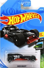 HW50 Concept | Model Cars | 2019 Hot Wheels Speed Blur HW50 Concept Flat Black