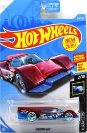 Gruppo x24 | Model Cars | Hot Wheels New For 2019 X-Racers Gruppo x24 Transparent Red