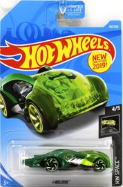 i-Believe | Model Cars | Hot Wheels New For 2019 HW Space i-Believe Transparent Green