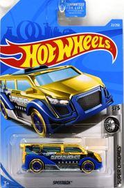 Speedbox   Model Trucks   2019 Hot Wheels Super Chromes Speedbox Gold