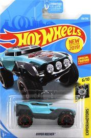 Hyper Rocker | Model Cars | Hot Wheels New For 2019 Experimotors Hyper Rocker Light Blue