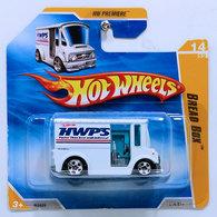 Bread Box | Model Trucks | HW 2010 - Collector # 014/214 - HW Premiere 14/52 - Bread Box - White - International Short Card