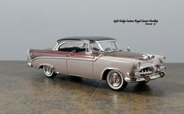 1956 Dodge Custom Royal Lancer Hardtop | Model Cars | JCarnutz