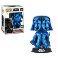 Darth Vader (Blue Chrome) [Celebration] | Vinyl Art Toys