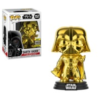 Darth Vader (Gold Chrome) [Galactic Convention] | Vinyl Art Toys