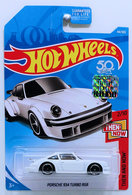 Porsche 934 Turbo RSR   Model Cars   HW 2018 - Collector # 044/365 - Then And Now 2/10 - Porsche 934 Turbo RSR - White - USA Card with Factory Sticker