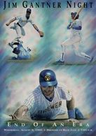 "Jim Gantner Night - ""End Of An Era"" Promotional Print 