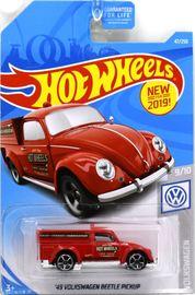 '49 Volkswagen Beetle Pickup | Model Cars | Hot Wheels New For 2019 Volkswagen '49 Volkswagen Beetle Pickup Red