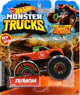 Sriracha | Model Trucks | Hot Wheels New For 2019 Monster Trucks Sriracha Orange