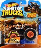 Tiger Shark | Model Trucks | 2019 Hot Wheels Monster Truck Tiger Shark Orange