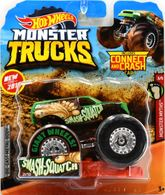 Smash-Squatch | Model Trucks | Hot Wheels New For 2019 Monster Myths Smash-Squatch Green