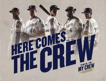 Crew Runs Deep Poster   Posters & Prints   Here Comes The Crew (Folded)