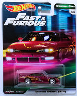 Nissan 240SX (S14) | Model Cars | HW 2019 - Fast & Furious / Original Fast 1/5 - Nissan 240SX (S14) - Maroon - Metal/Metal & Real Riders