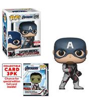 Captain America (Quantum Realm Suit) (Collectible Cards)   Vinyl Art Toys