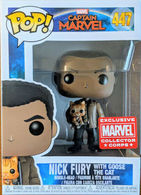 Nick Fury with Goose the Cat   Vinyl Art Toys
