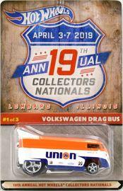 Volkswagen Drag Bus   Model Trucks   2019 - 19th Annual Hot Wheels Collectors Nationals VW Drag Bus Union 76