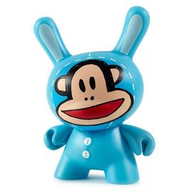 Julius Bunny Dunny Blue   Vinyl Art Toys