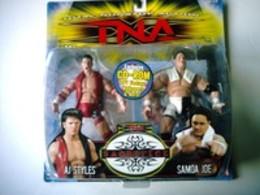 A. J. Styles - Samoa Joe   Action Figure Sets