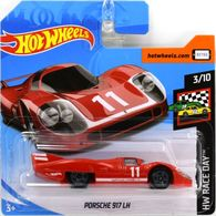 Porsche 917 LH | Model Racing Cars | 2019 Hot Wheels HW Race Day Porsche 917 LH Red