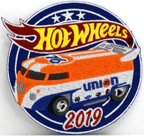 19th Annual Hot Wheels Collectors Nationals Commemorative Patch | Uniform Patches | 2019 19th Annual Collectors Nationals Souvenir VW Drag Bus Collectors Patch