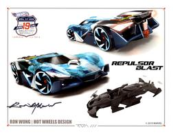 2019 - 19th Annual Collectors Nationals Autograph Sheets | Posters & Prints | 2019 - 19th Annual Hot Wheels Collectors Nationals Autograph Sheet Ron Wong