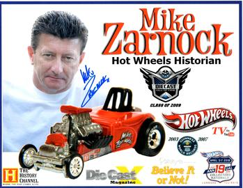 2019 - 19th Annual Collectors Nationals Autograph Sheets | Posters & Prints | 2019 - 19th Annual Hot Wheels Collectors Nationals Autograph Sheet Mike Zarnock