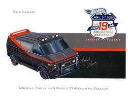 2019 - 19th Annual Collectors Nationals Autograph Sheets | Posters & Prints | 2019 - 19th Annual Hot Wheels Collectors Nationals Autograph Sheet Manson Cheung