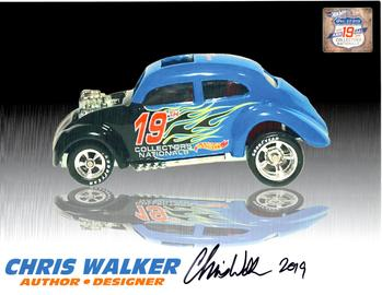 2019 - 19th Annual Collectors Nationals Autograph Sheets | Posters & Prints | 2019 - 19th Annual Hot Wheels Collectors Nationals Autograph Sheet Chris Walker