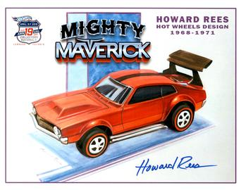 2019 - 19th Annual Collectors Nationals Autograph Sheets | Posters & Prints | 2019 - 19th Annual Hot Wheels Collectors Nationals Autograph Sheet Howard Rees