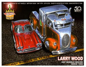 Wild Weekend Of Hot Wheels Birthday Bash Autograph Sheets | Posters & Prints | The Wild Weekend of Hot Wheels Birthday Bash Larry Wood