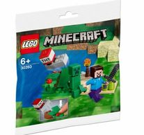 Minecraft Steve And Creeper Set | Construction Sets