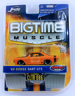 '69 Dodge Dart GTS | Model Cars | JADA 2006 - Bigtime Muscle / Wave 8 / CLTR 086 - '69 Dodge Dart GTS - Orange - Fresh Ride!